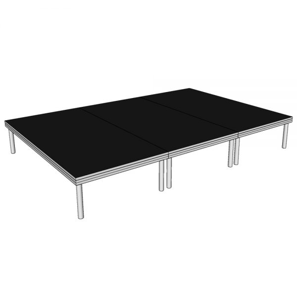 Stage Deck System 3x2m x 400mm