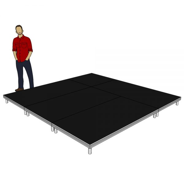 Stage Deck System 3m x 3m x 200mm