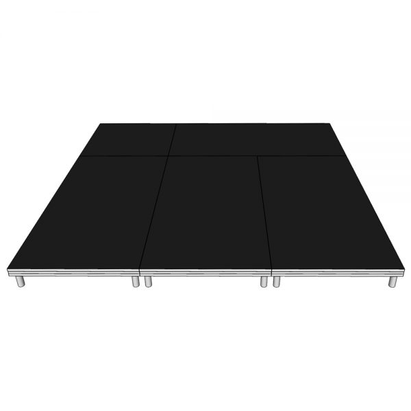 Stage Deck Package 3x3m x 200mm