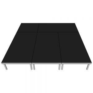 Stage Deck Package 3x3m x 400mm