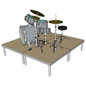 Drum Riser Stage Platform