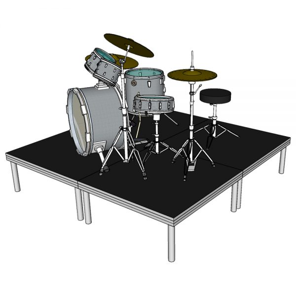 Drum Rise 4 Deck Stage System