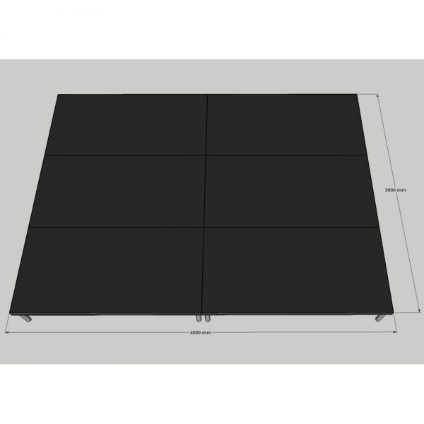Stage Deck Systems 4x3m