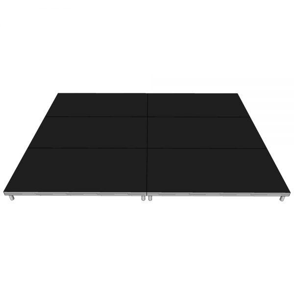 Stage Deck System 4x3m x 200mm