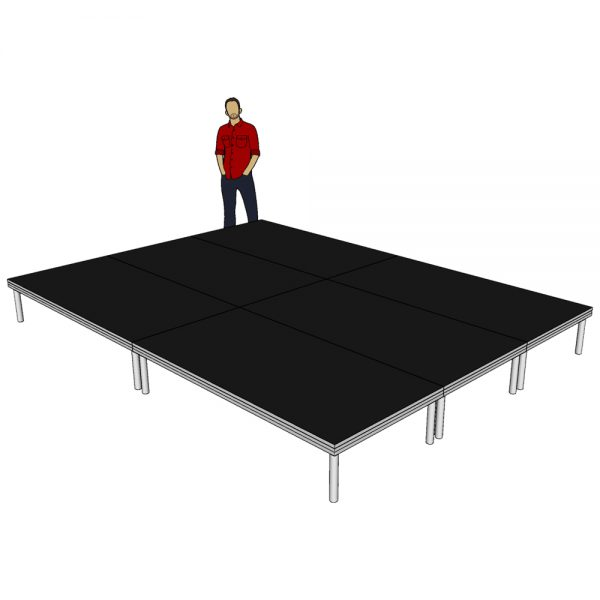 Stage Deck Systems 4m x 3m x 400mm