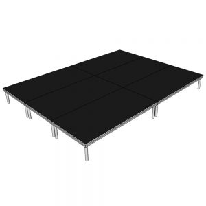 Stage Deck Systems 4x3m x 400mm