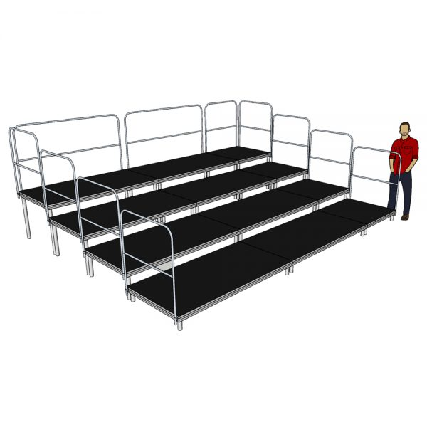5m x 4m Tiered Seating System