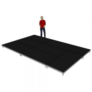 Stage Deck System 5m x 3m x 200mm