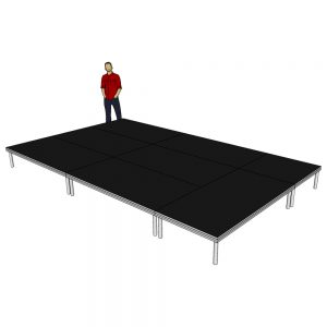 Stage Deck System 5m x 3m x 400mm