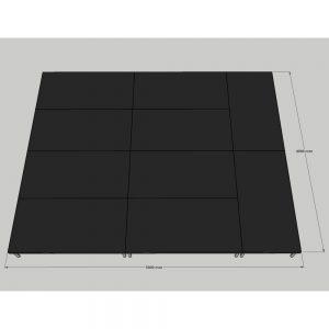 Stage Deck System 5x4m
