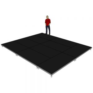 Stage Deck Package 5x4m x 200mm