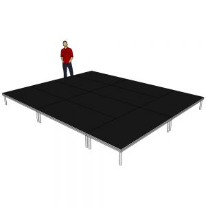 Stage Deck Package 5m x 4m x 400mm