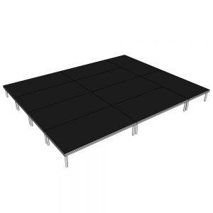 Stage Deck System 5x4m x 400mm