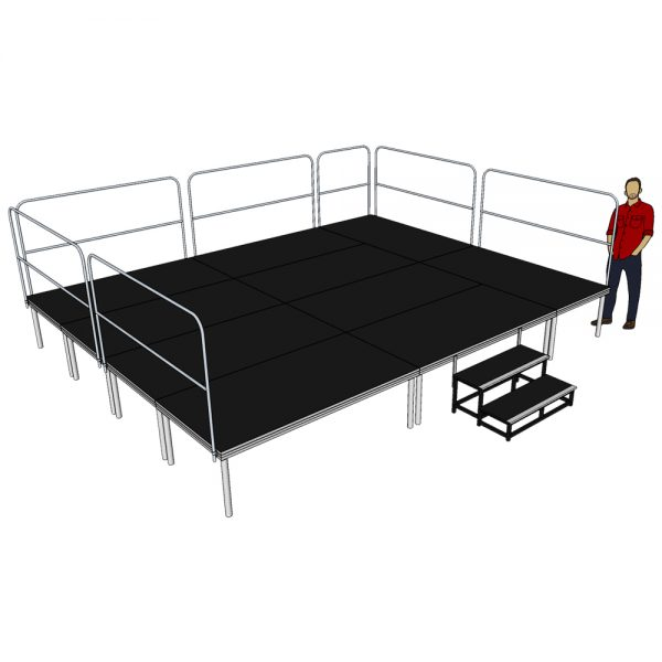 Stage Deck System 5m x 4m x 600mm