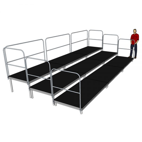 6m x 3m Tiered Seating System