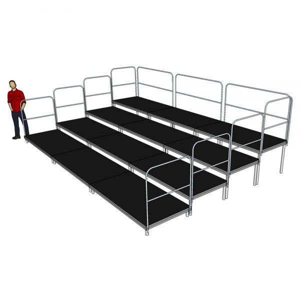 6m x 4m Tiered Seating System