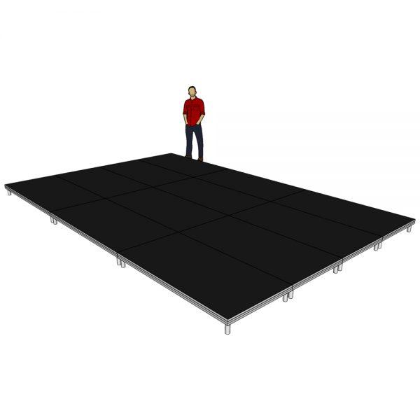 Stage Deck System 6m x 4m x 200mm