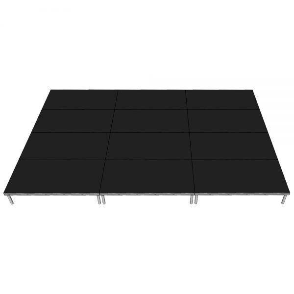 Stage Deck Package 6x4m x 400mm