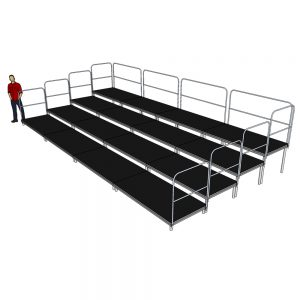 8m x 4m Tiered Seating System
