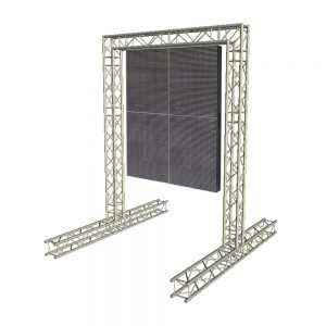 Aluminium truss system 3m x 4m LED Video Wall Truss