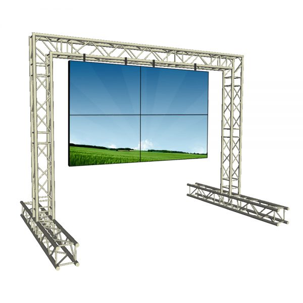 4m x 3m Video Display Structure