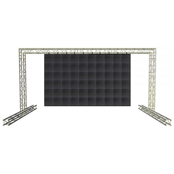 8m x 4m Video Wall Truss