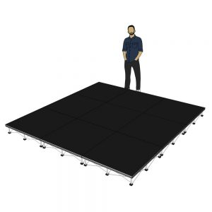 Portable Stage 3m x 3m x 200mm