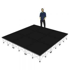 Portable Stage 3m x 3m x 400mm