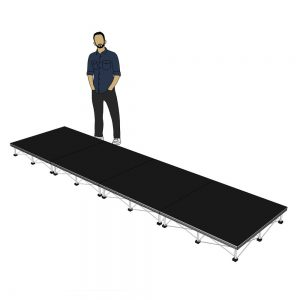 Portable Stage 4m x 1m x 200mm