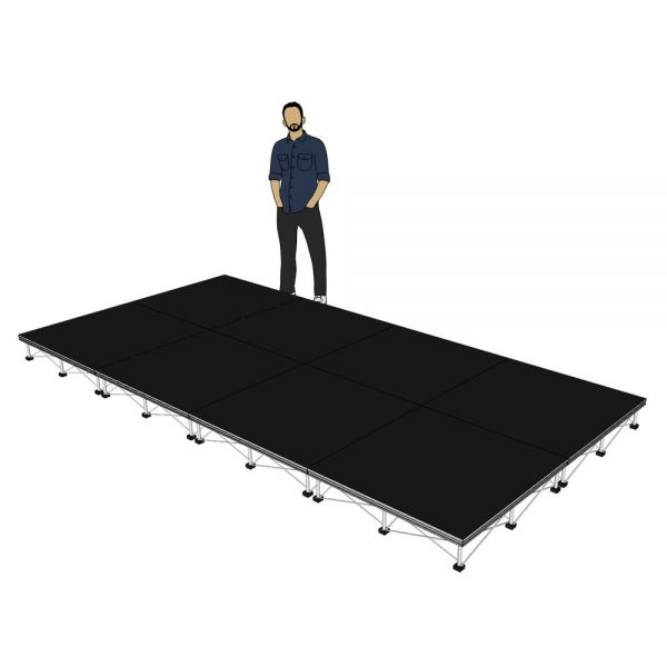 Portable Stage 4m x 2m x 200mm