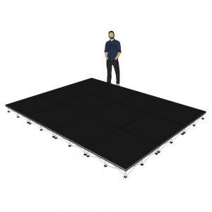 Portable Stage 4m x 3m x 200mm