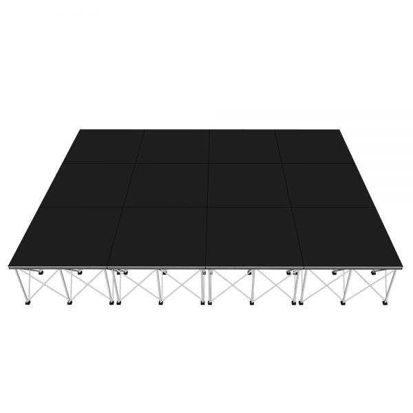 Portable Stage 4x3m x 600mm