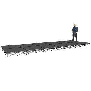 lightweight stage platform