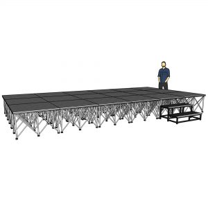 lightweight stage systems
