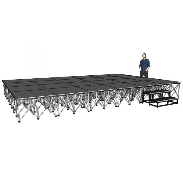 lightweight portable stage