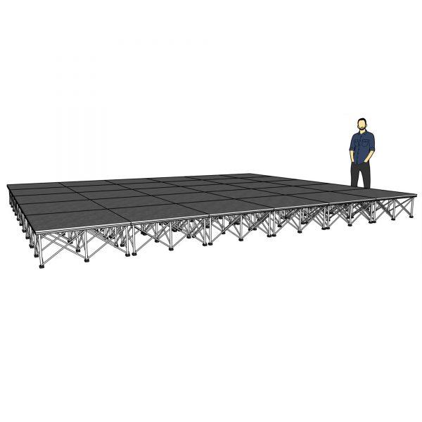 lightweight modular staging