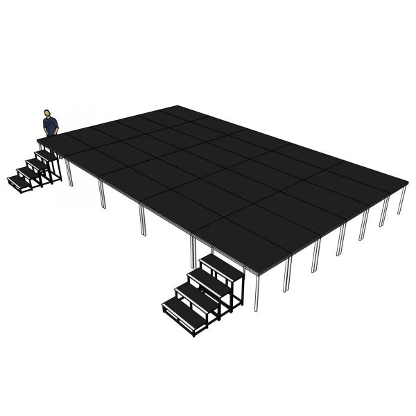 portable stage for sale