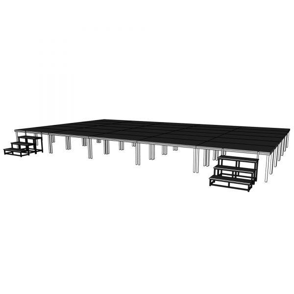 portable stage platforms