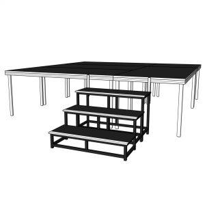 aluminum stage deck