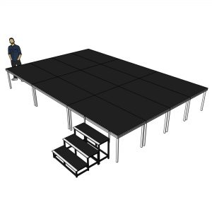 stage platform for sale