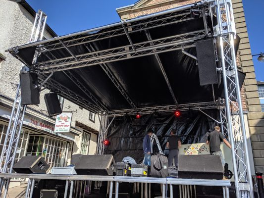 Music Stage Roof System