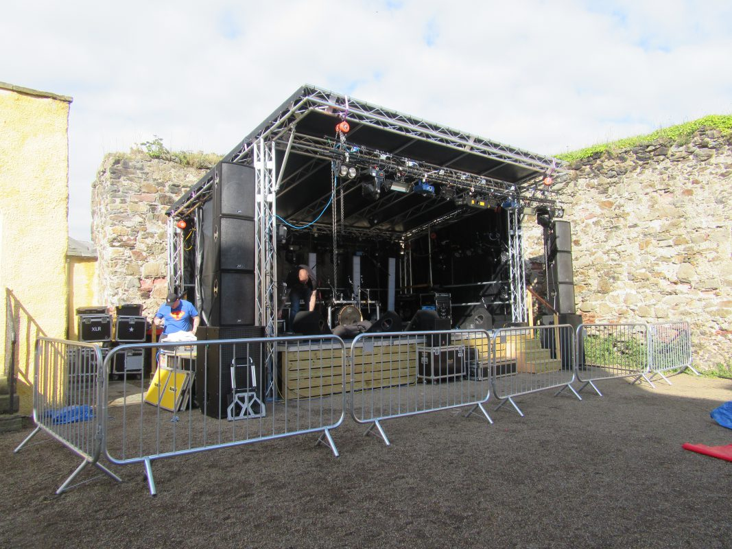 Outdoor Stage System