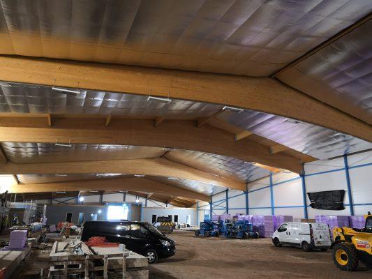 Cambridge Ice Arena - Stage Concepts Site Visit
