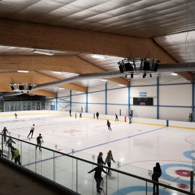 Cambridge Ice Arena - Opening Day