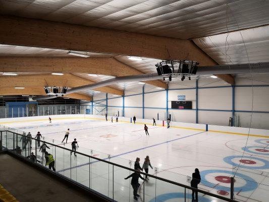 Cambridge Ice Arena - Opening Day