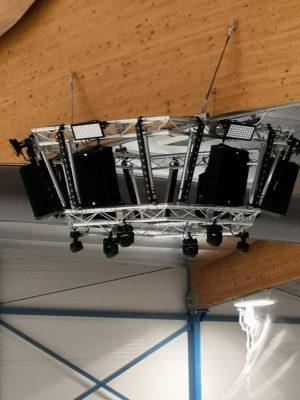 Cambridge Ice Arena - Sound System Installation