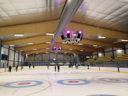 Cambridge Ice Arena - Audio & Lighting System