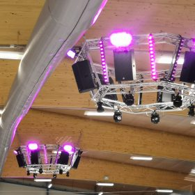 Cambridge Ice Arena - Audio & Lighting Rigs