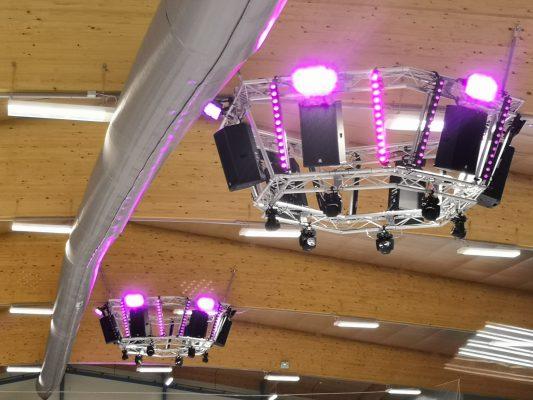 Cambridge Ice Arena - Audio & Lighting Rigs