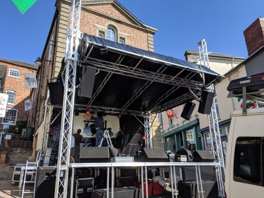 5m x 5m Stage Roof System